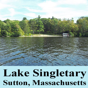 Lake Singletary Sutton Massachusetts