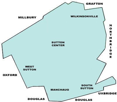 Sutton Map
