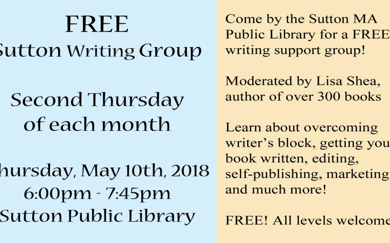 May Sutton Writing Group Meeting – Thu May 9th 2018