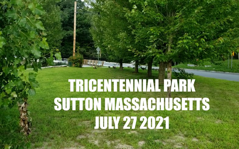 Tricentennial Park and Singing Falls on the Blackstone River